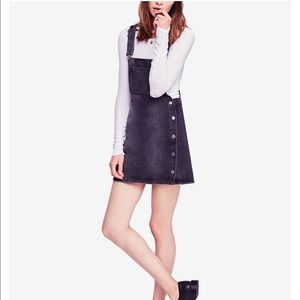 NWT Free People Skirt Overalls Size 2